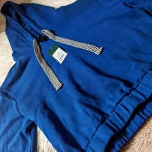 Wild fable blue cropped hoodie small